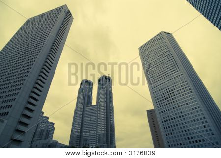 Skyscrapers Background