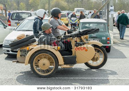 Military Motorcycle