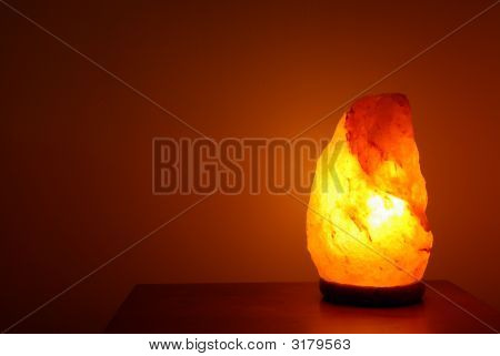 Relaxing Salt Lamp