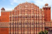 Hawa Mahal- Palace of Winds, Jaipur, India.