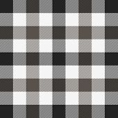 Tartan Plaid. Scottish Pattern In Black, Brown And White Cage. Scottish Cage. Traditional Scottish C poster
