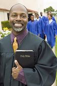 picture of ecclesiastical clothing  - Smiling Preacher - JPG