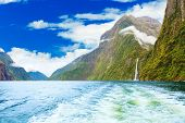 Milford sound fiordland. New Zealand