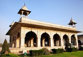 pic of khas  - Hall of Private Audience or Diwan I Khas at the Lal Qila  - JPG