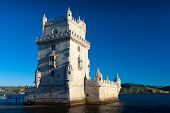 Belem Tower ( Torre De Belem) Or The Tower Of St Vincent Is A Fortified Tower In Lisbon. It Is A Une poster