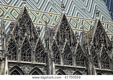 Roof Of Cathedral Of Saint Stephen