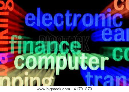 Electronic Finance Computer