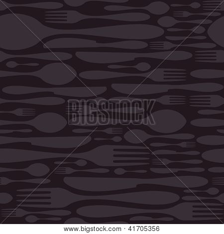 Restaurant Seamless Pattern