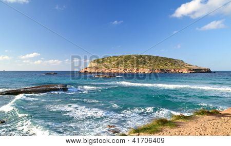 Cala Comte Beach in Ibiza