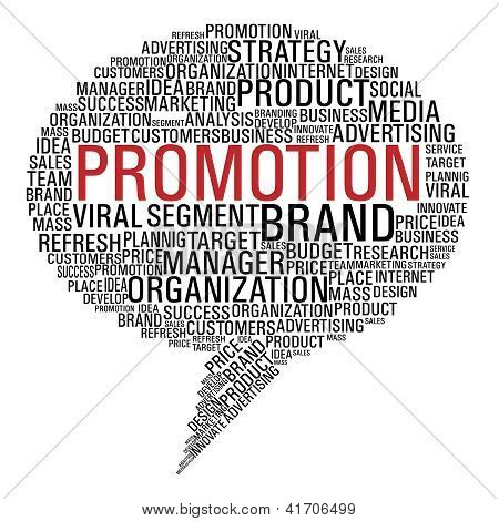 Marketing Promotion Speech Bubble