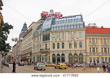 City Center Of Sofia, Bulgaria.