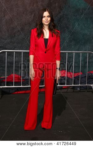 LOS ANGELES - JAN 31:  Yuliya Snigir at the 'A Good Day to Die Hard