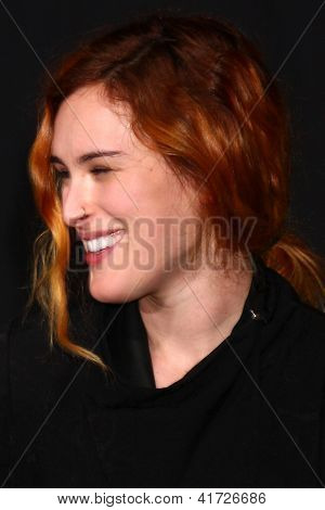 LOS ANGELES - JAN 31:  Rumer Willis at the 'A Good Day to Die Hard