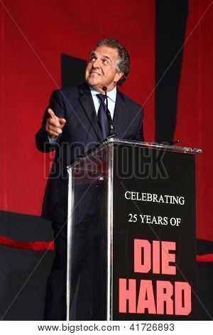 LOS ANGELES - JAN 31:  Jim Gianopulos at the 'A Good Day to Die Hard