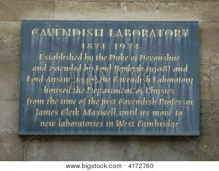 Cavendish Laboratory