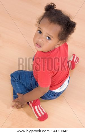 Adorable African Baby