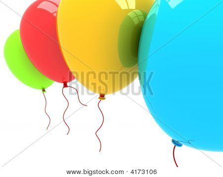 3D Party Balloons