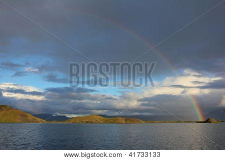 Myvatn Rainbow