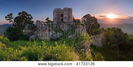 Ruins Of Castle Gymes - Slovakia