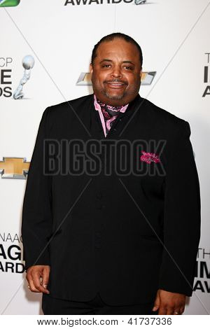 LOS ANGELES - FEB 1:  Roland Martin arrives at the 44th NAACP Image Awards at the Shrine Auditorium on February 1, 2013 in Los Angeles, CA.