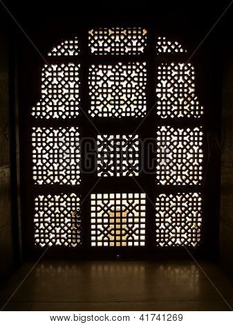 Carved Window Silhouette