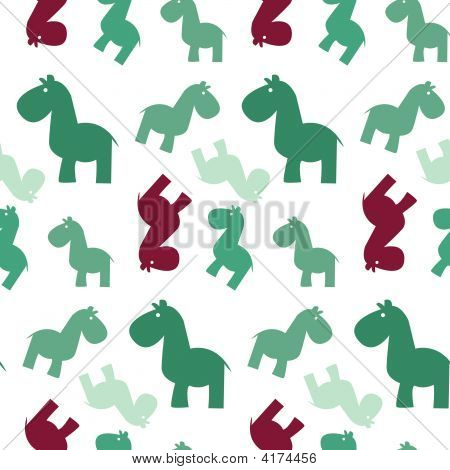 Pattern Of Simple Naive Horse
