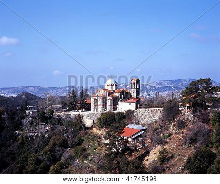 Church, Troodos mountains, Cyprus.
