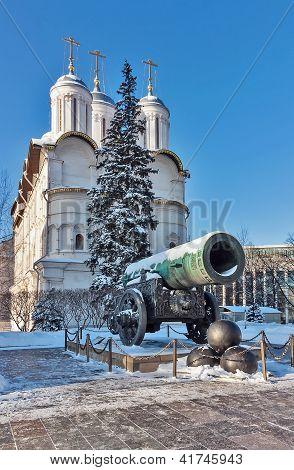 Tsar Cannon, Moscow