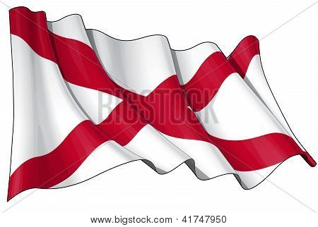St Patrick's Saltire (N.Irish flag)