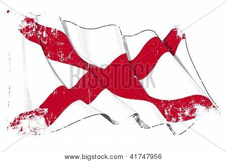 St Patrick's Saltire (N.Irish flag) Grange