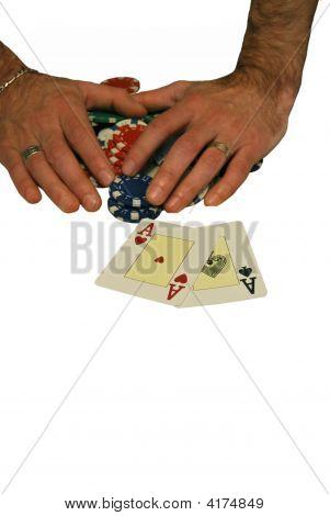 Poker Hand Chips