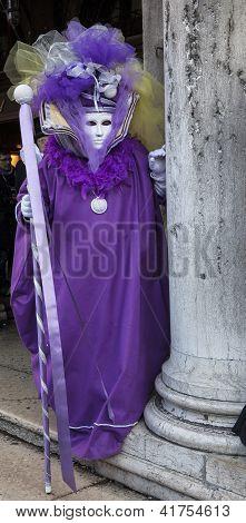 Violet Venetian Disguise