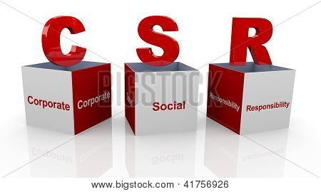 3D Corporate Social Responsibility Boxes