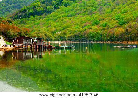 Fishing Lodge On The Lake. Istrian, Croatia