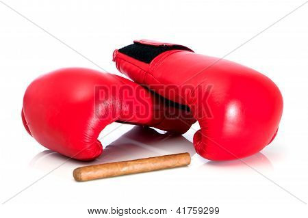 Boxing Glove And Cigar