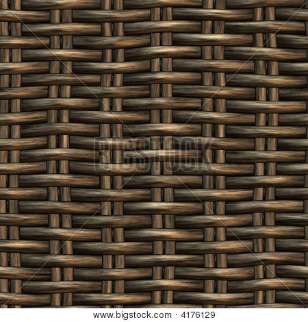 Braided Wicker Background