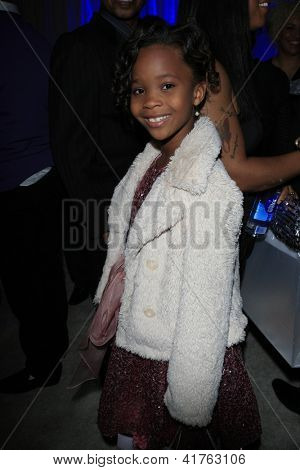 LOS ANGELES - FEB 1: Quvenzhane Wallis in the Bellafortuna Entertainment gifting suite at the NAACP awards on February 1, 2013 in Los Angeles, California