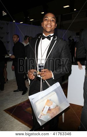 LOS ANGELES - FEB 1: Chris Massey in the Bellafortuna Entertainment gifting suite at the NAACP awards on February 1, 2013 in Los Angeles, California