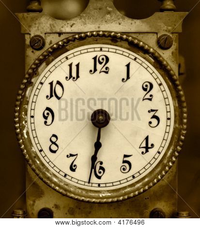 Old Iron Clock