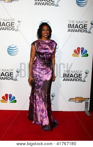 LOS ANGELES - JAN 31:  Tatyana Ali arrives at the 44th NAACP Image Awards at the Shrine Auditorium on January 31, 2013 in Los Angeles, CA.