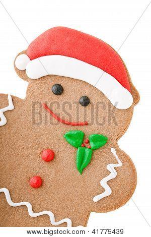 Santa Gingerbread Man