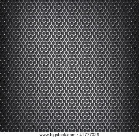 Rejilla metálica de cromo