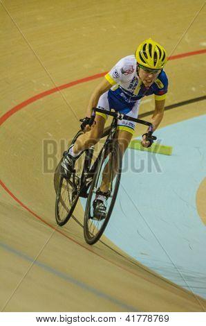 Unidentified Cyclist