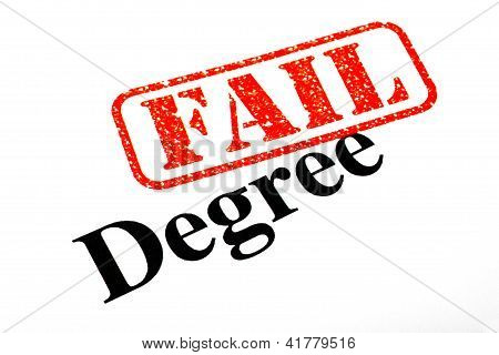 Failed University Degree
