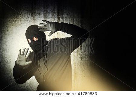 Assaltante preso