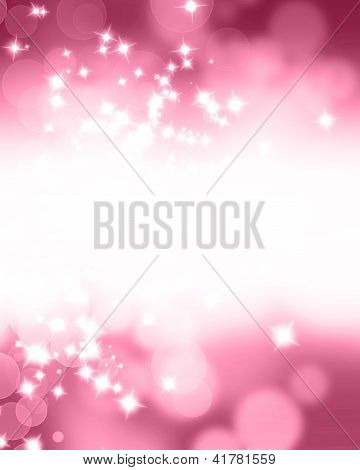 Pink Glitter Background