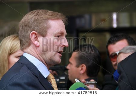 Taoiseach of Ireland Enda Kenny