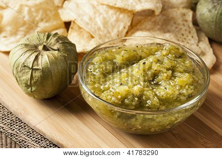 Fresh Homemade Salsa Verde