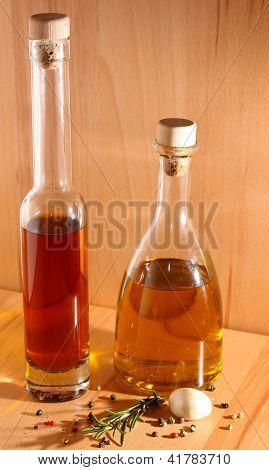 Essig und Öl