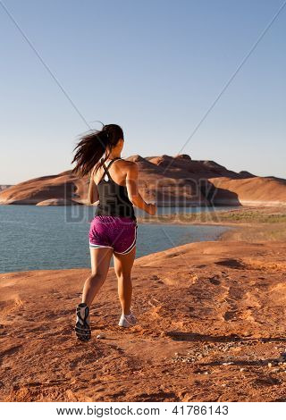 Running Workout in the Desert